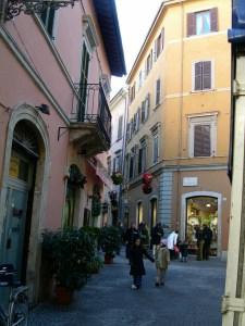 Ascoli Piceno - Einkaufsstraße