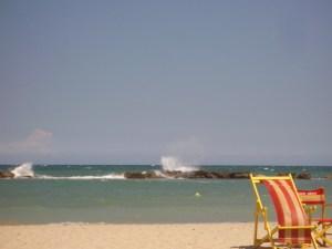 Sommer am Meer in Cupra Marittima