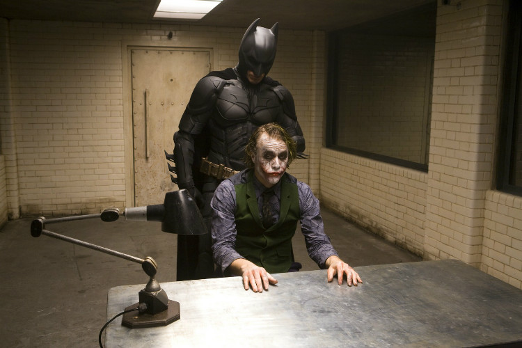 Batman Why Do We Fall Wallpaper 32 Pictures Of The Interrogation Scene From The Dark Knight