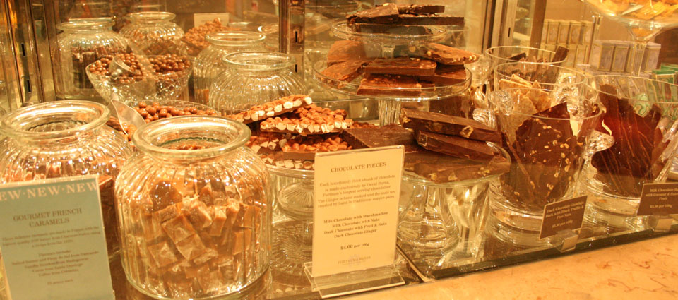 Fortnum & Mason Londres chocolates