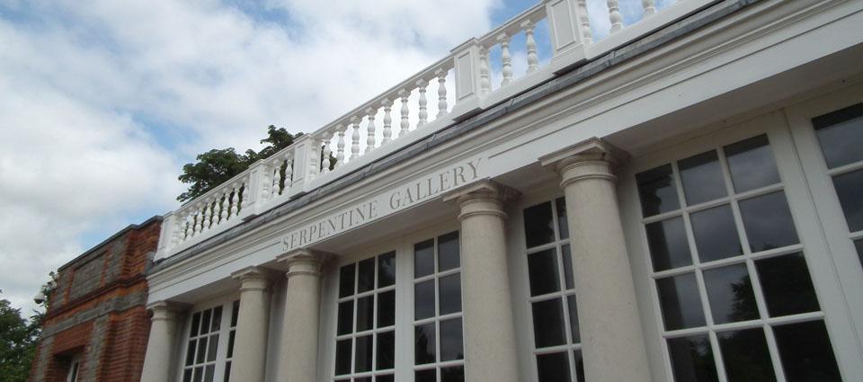 Serpentine Gallery Pavilion Sou Fujimoto la galería
