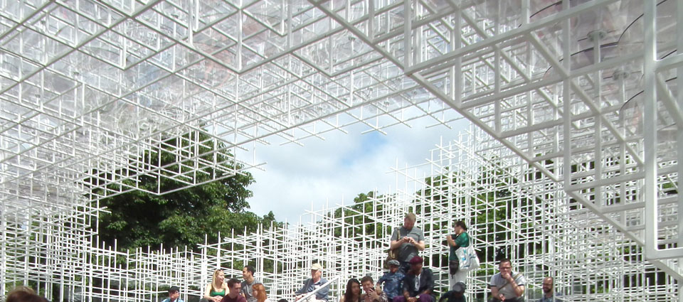 Serpentine Gallery Pavilion Sou Fujimoto interior