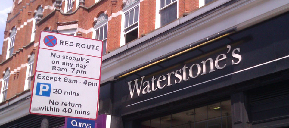 Waterstone's Bookshop London