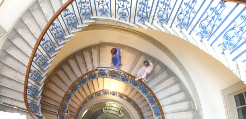 The Courtauld Gallery museo londres Escalera