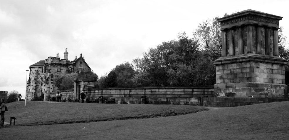 Festival de teatro de Edimburgo Calton Hill