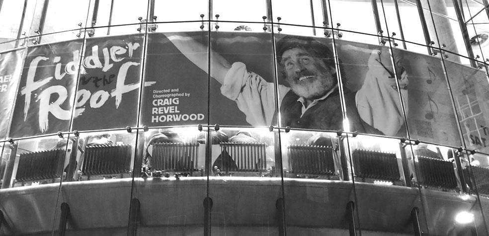 Festival de teatro de Edimburgo el violinista en el tejado