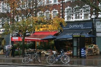 Londres en otoño Haverstock Hill