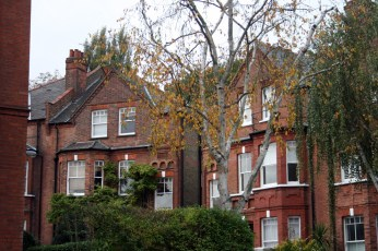 Londres en otoño casas belsize park