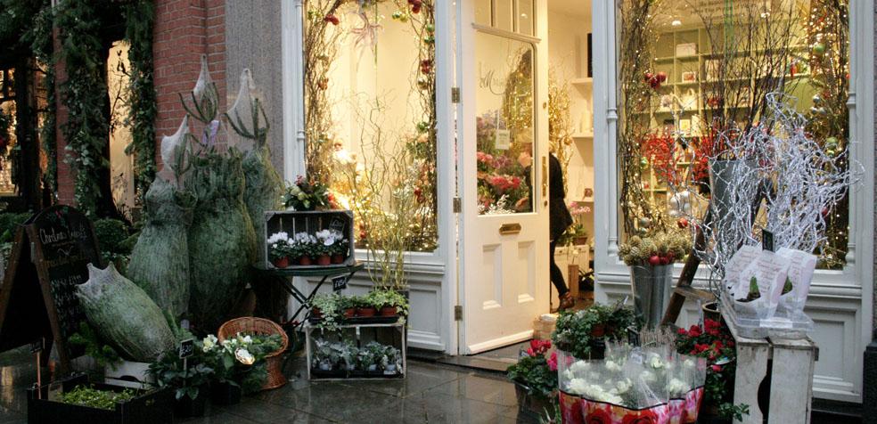 La navidad en Londres Floristería