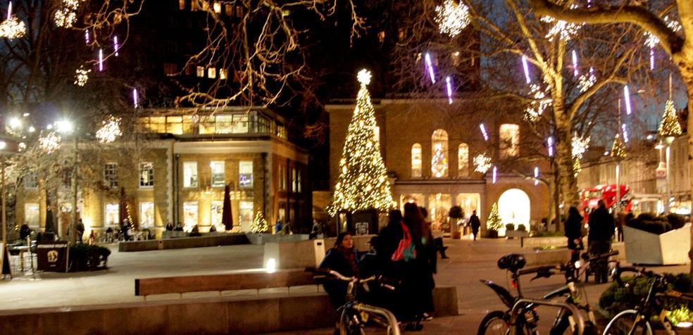 La navidad en Londres Chelsea