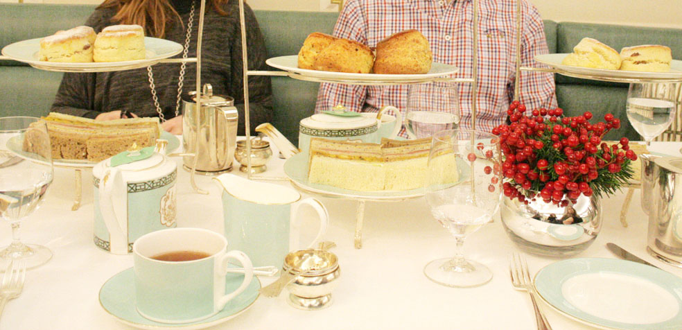 afternoon tea en Fortnum Mason fuentes