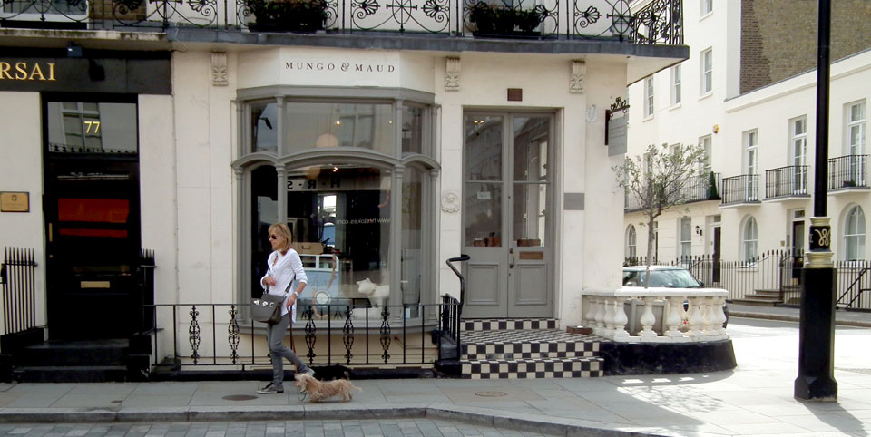 Tiendas de decoración de Londres Mungo & Maud
