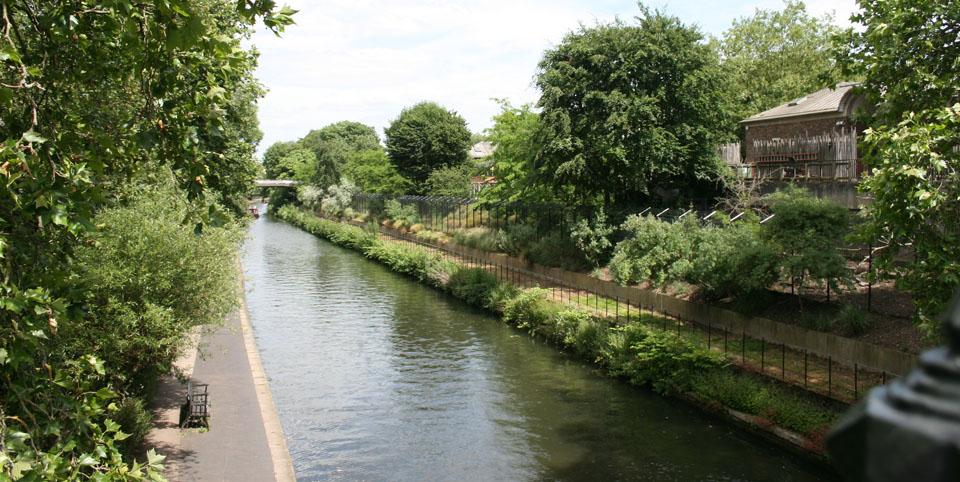 Canal de Camden Town vistas