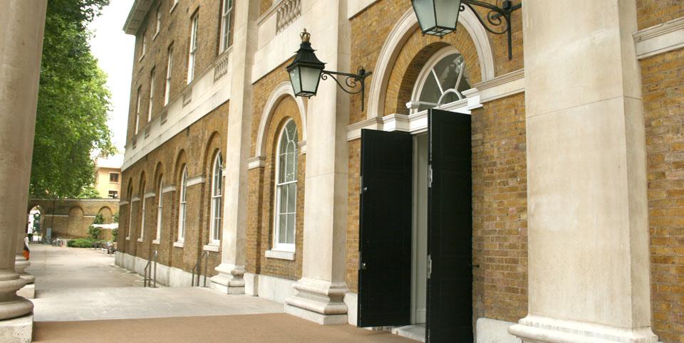 Saatchi gallery de Londres entrada