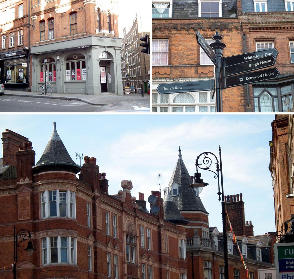 Barrios bonitos de Londres Fitzjon's Street