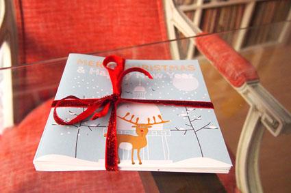 Felicitación Navidad Reno