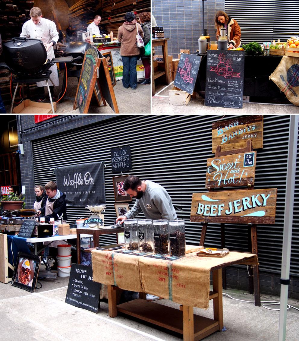 Maltby Street Market en Ropewalk street food