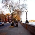 El paseo por Chelsea Embankment.