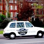 Un taxi londinense.