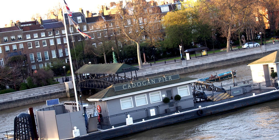 Chelsea Embankment Cadogan Pier