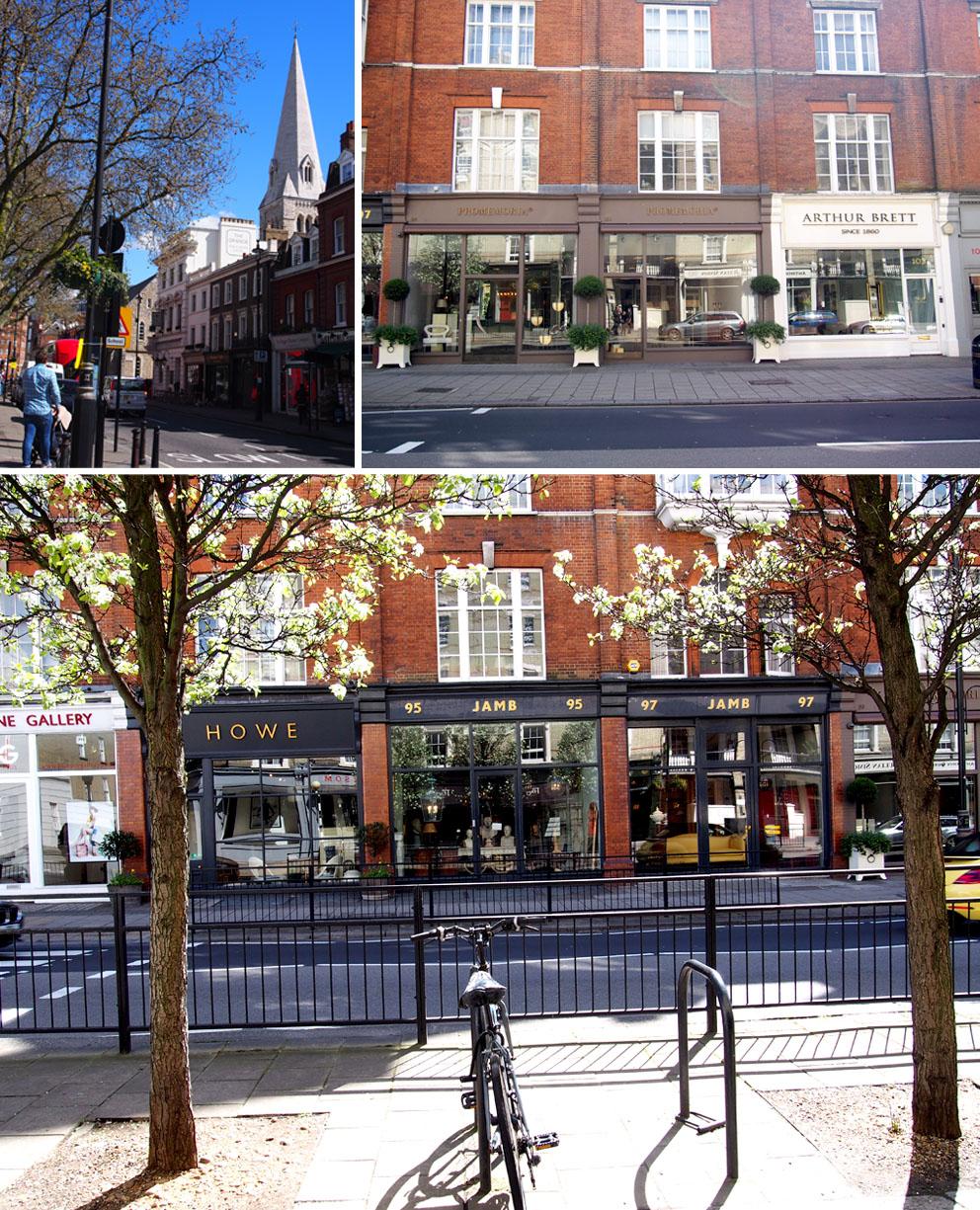 Anticuarios en Belgravia Pimlico Road