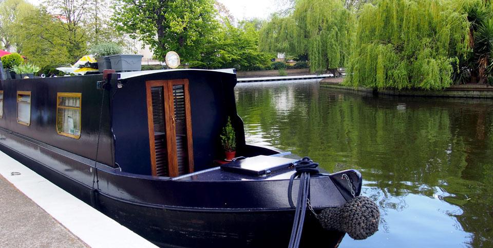 Dónde se cogen los barcos en Little Venice barco