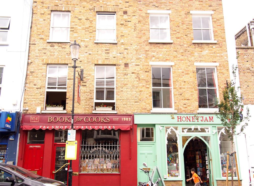 Qué ver en Notting Hill book for cooks