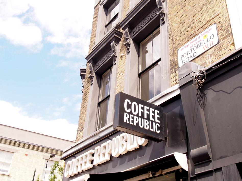 Qué ver en Notting Hill coffee republic