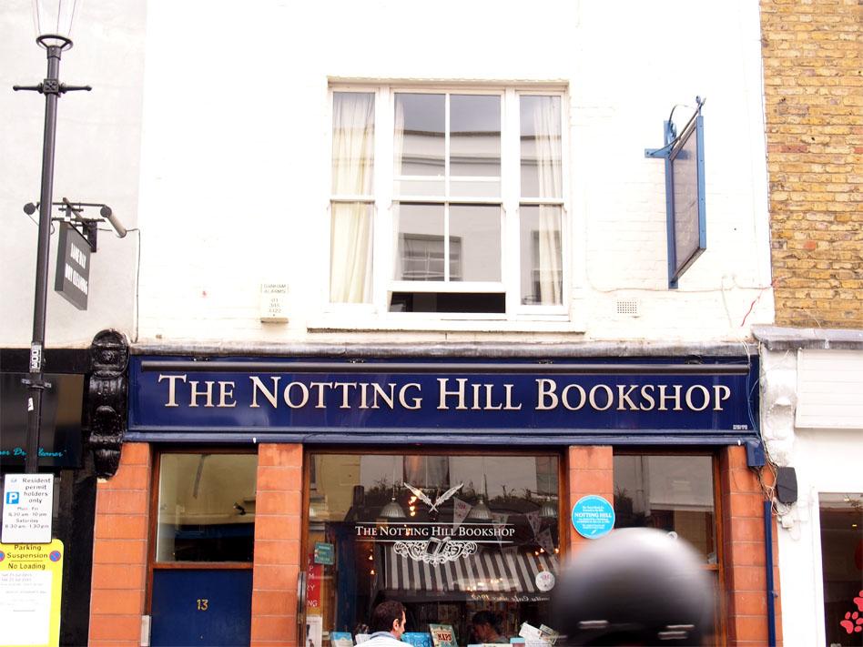 Qué ver en Notting Hill bookshops