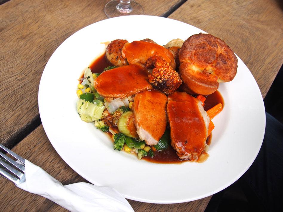 donde comer en Londres Sunday Roast