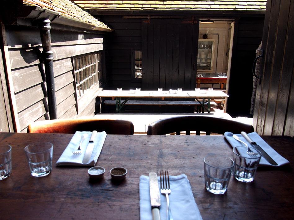 Anticuarios de Inglaterra A.G. Hendy restaurante