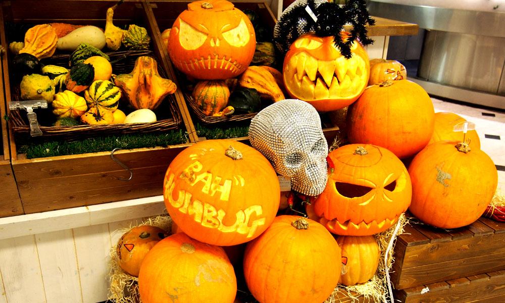 Halloween en Londres calabazas selfridges