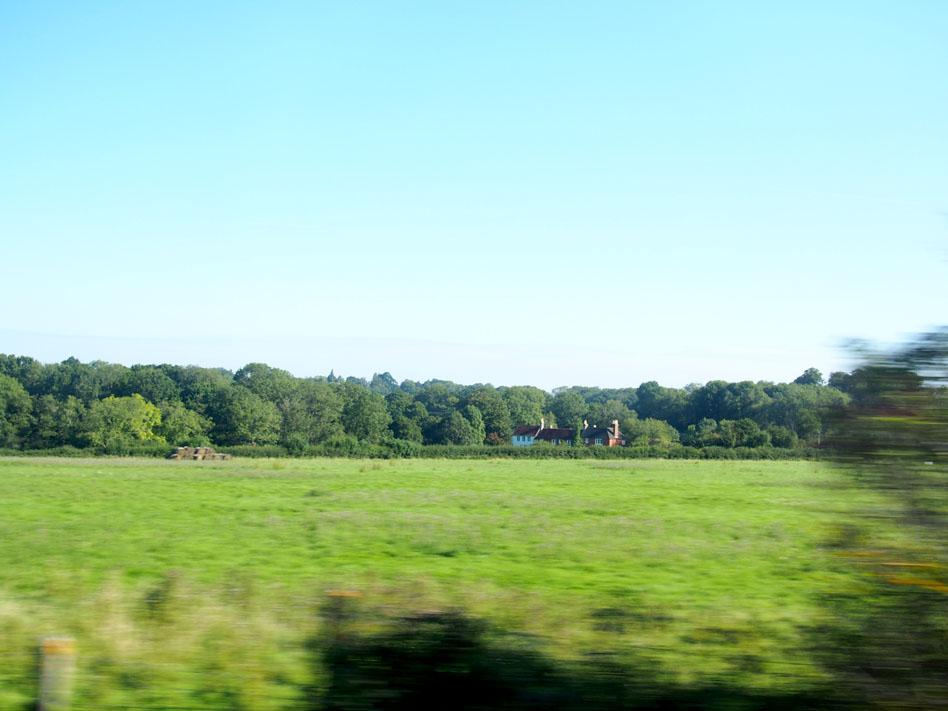 Pueblos de Inglaterra paisaje
