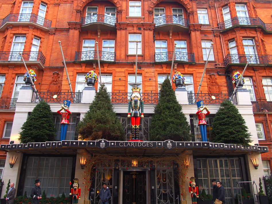 11 puntos ideales de Mayfair Hotel Claridges