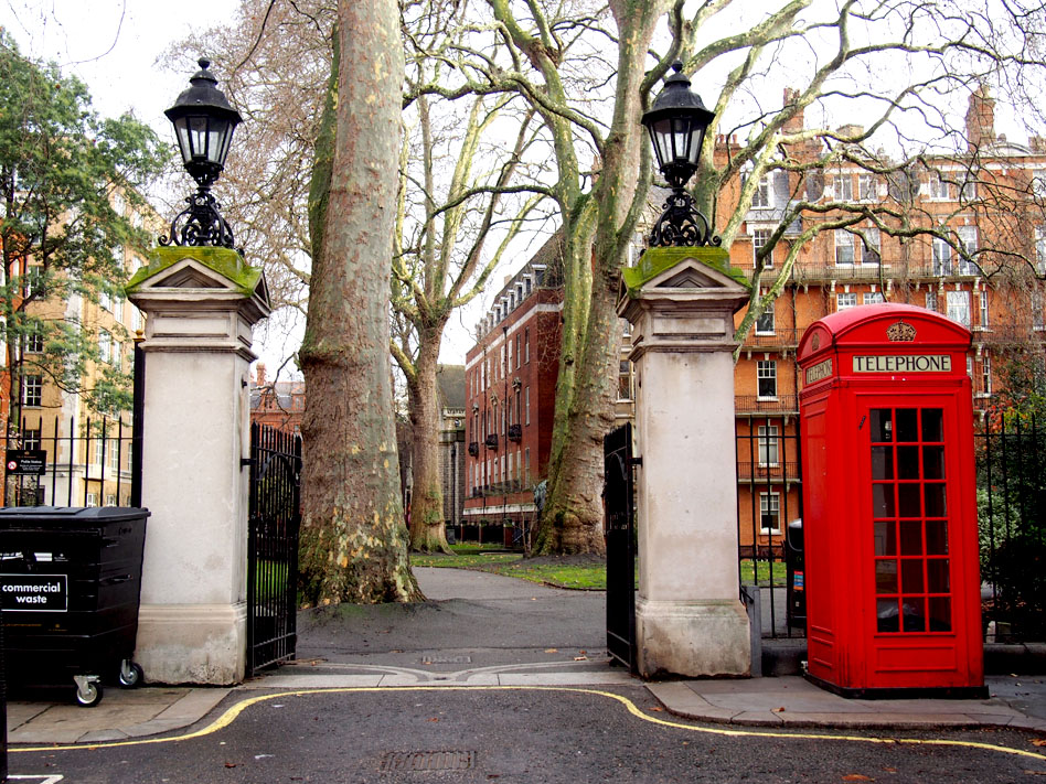 11 puntos ideales de Mayfair Mount Street Gardens