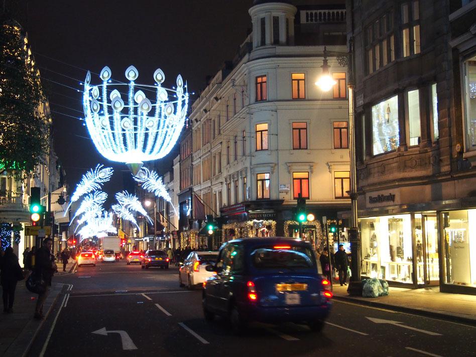 Ruta iluminación Navidad Londres Bond Street