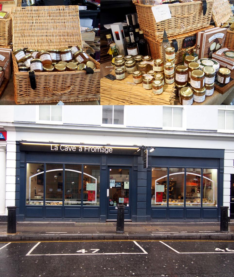 Mejores tiendas de quesos de Londres La Cave a fromage