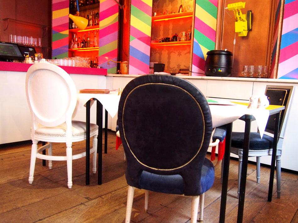 restaurante de moda de Londres The Parlour