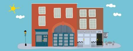 Dibujo ilustracion Papelerías Londres