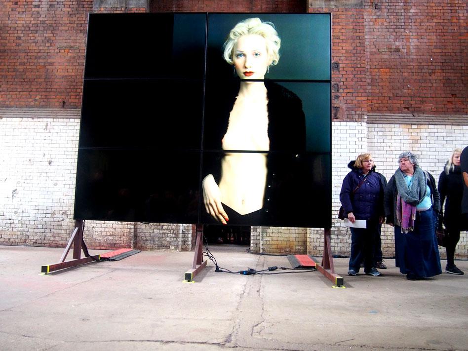 Annie Leibovitz en Londres fotografía