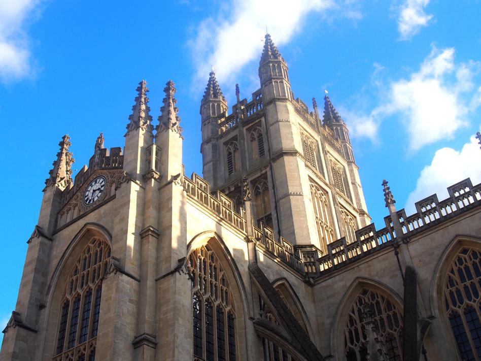 qué ver en Bath abadía