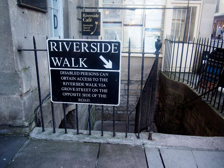 qué ver en Bath riverside walk