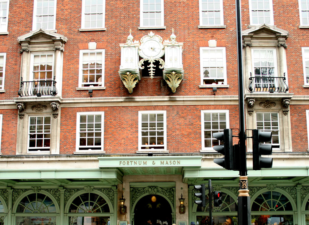 Piccadilly lugares que ver fortnum & Mason