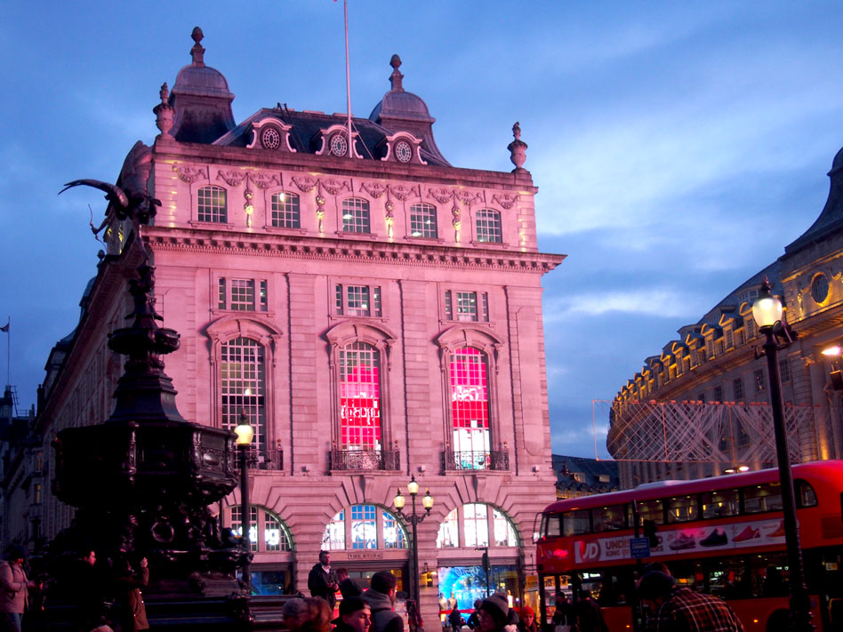 Piccadilly lugares que ver Picadilly Circus