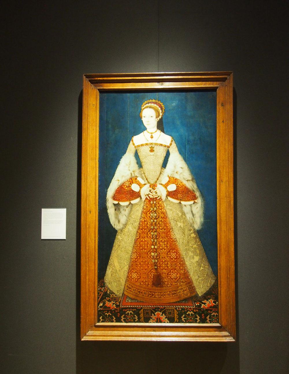 National Portrait Gallery de Londres Retrato tudor