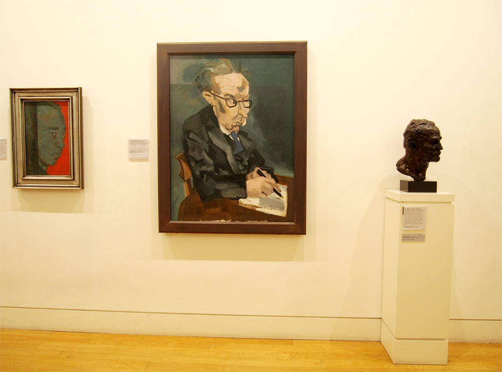 National-Portrait-Gallery-de Londres sala-arte-Contemporaneo