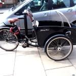 Una bici típica de Londres.