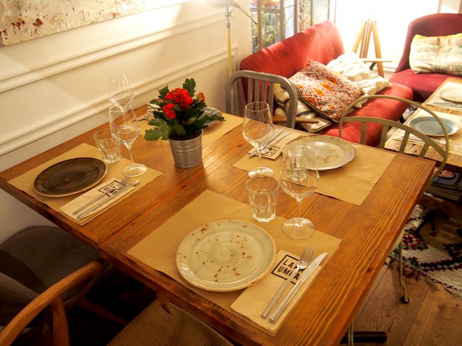 Dónde organizar una cena con amigas en Madrid Pipa & Co rincón