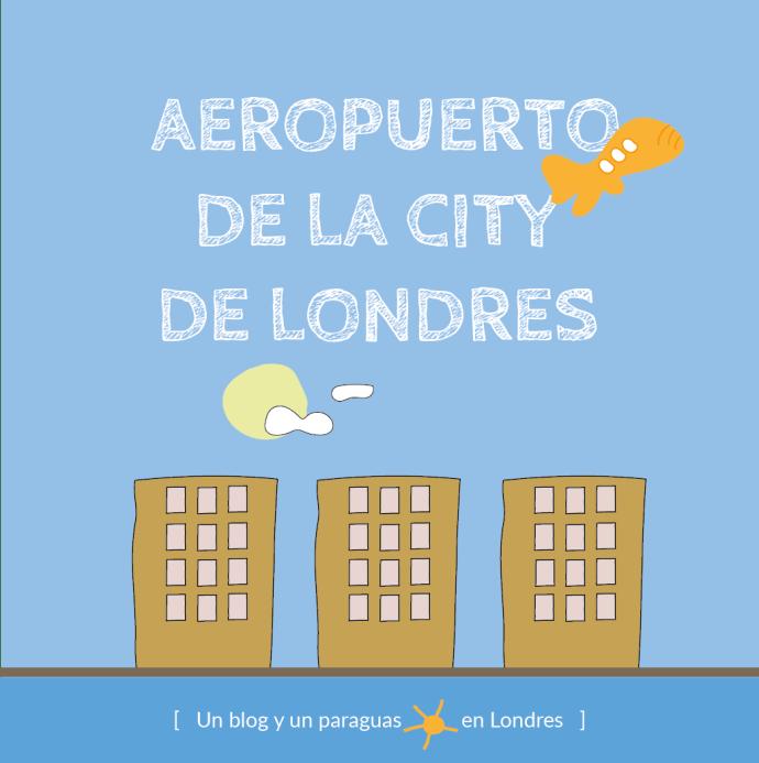 Aeropuerto de la City de Londres dibujo
