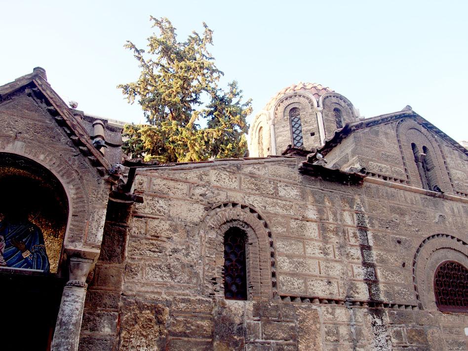 Paseo por el centro de Atenas iglesia Panagia
